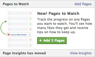 Pages to watch Facebook