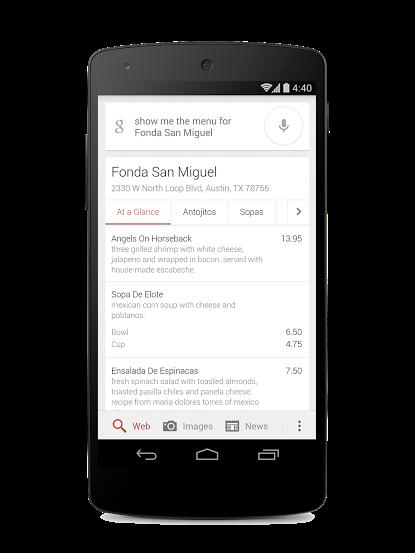 Menu's restaurants nu zichtbaar in Google