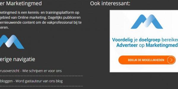 Adverteren op Marketingmed