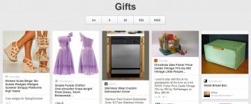 Pinterest Gift feed