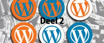 Eigen WordPress thema