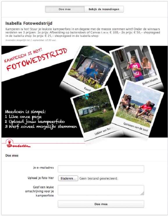 Facebook fotowedstrijd