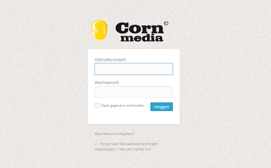 Personaliseer je WOrdPress inlogscherm