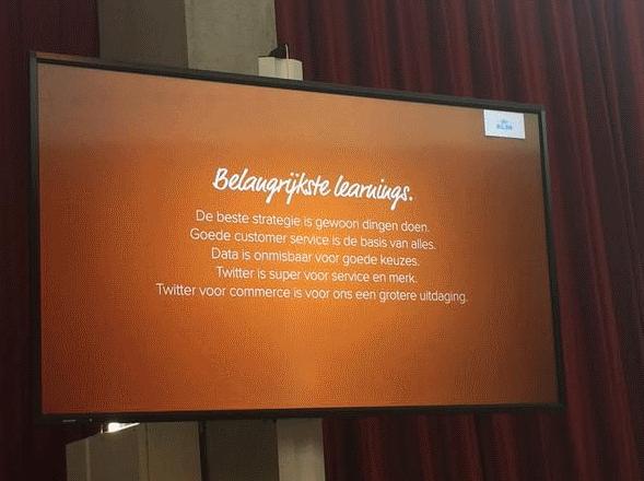 Twitter advies van KLM