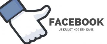 Facebook, je krijgt nog één kans.