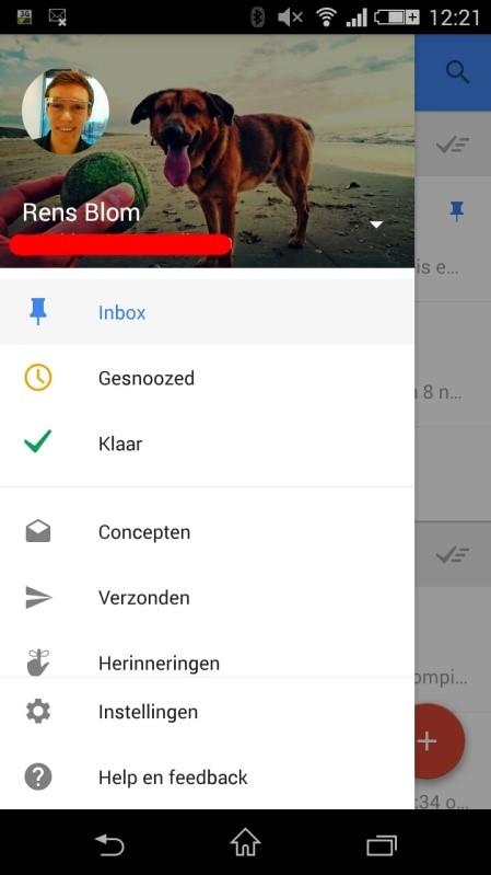 Uiterlijk Inbox by Google