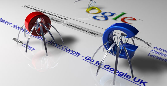 Spider, crawlers en robots van Google