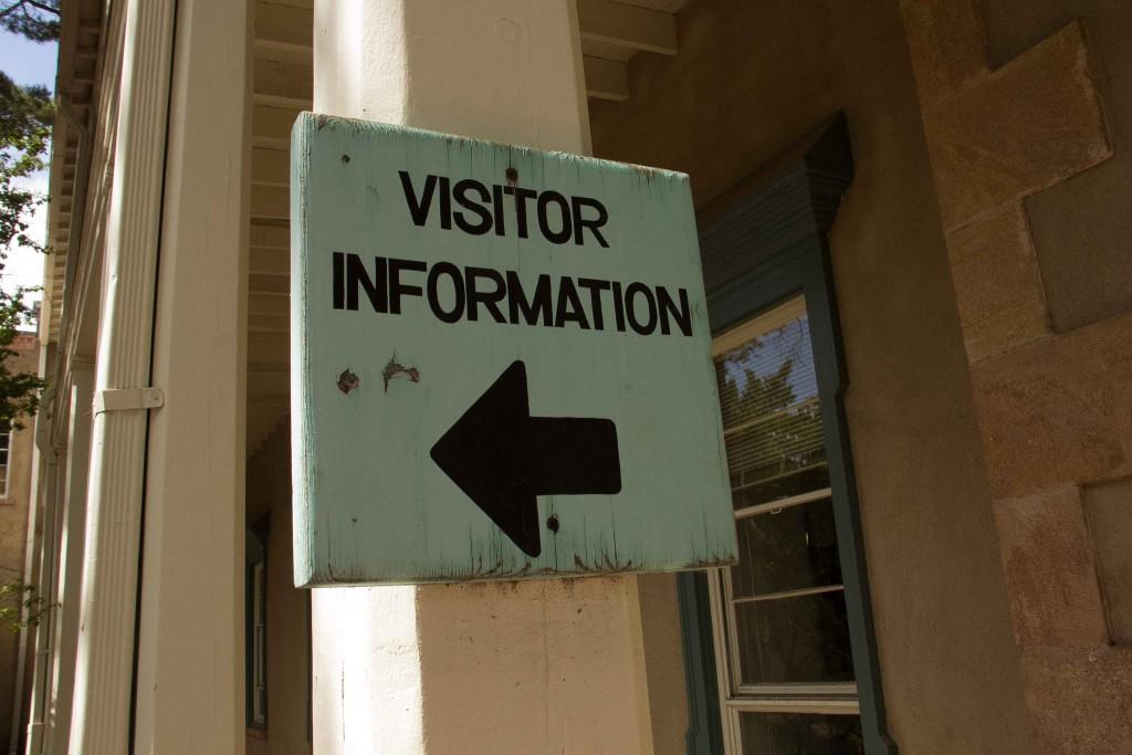 Bezoekers op je website