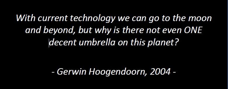 Quote van Senz Umbrellas