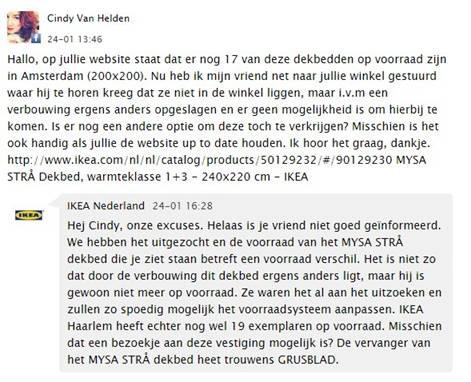 Webcare IKEA