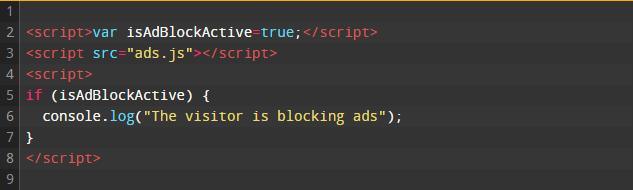 Uitleg Javascript Adblock