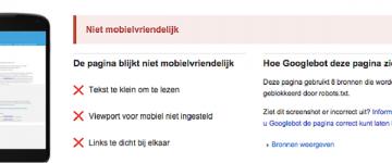 Geen responsive website- Geen smoesjes!