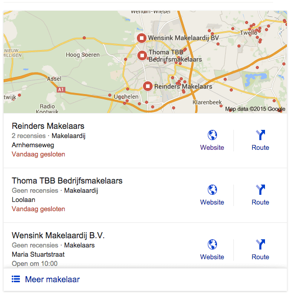 Local stack Google uitleg