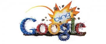 Zoekmachines Bing tegen Google