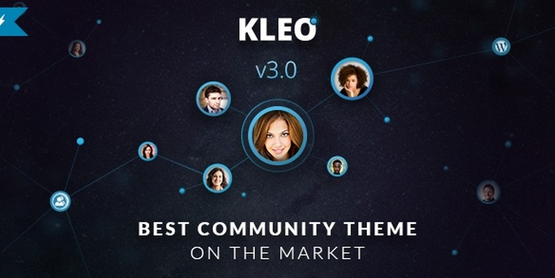 Kleo wordPress community theme