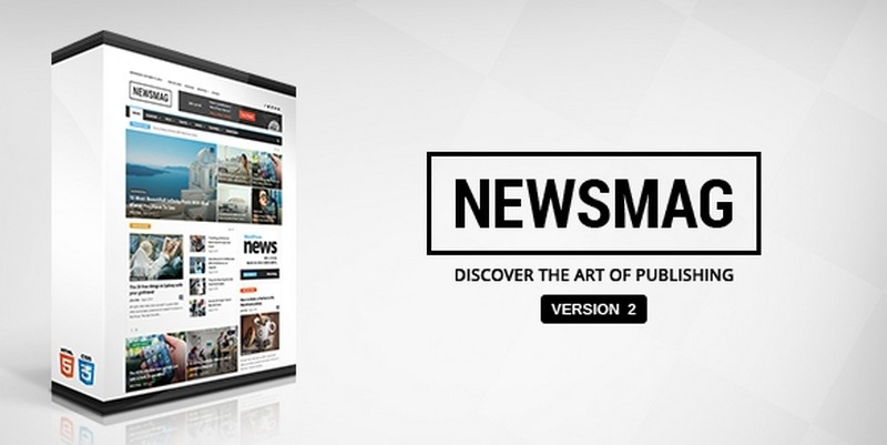 Newsmag website theme