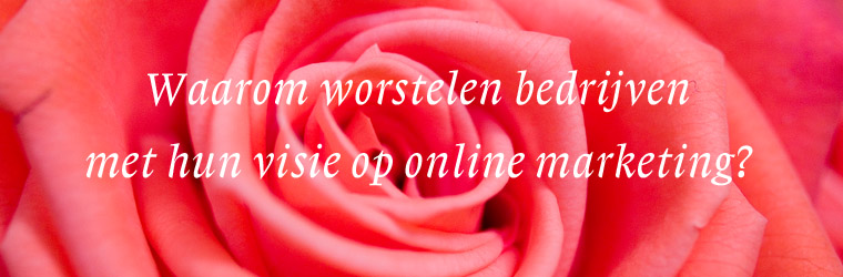 Visie op online marketing