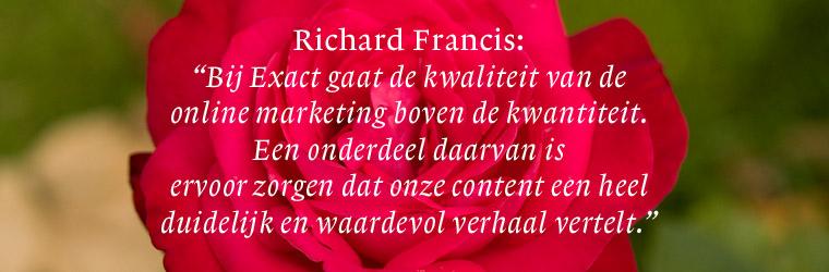 Online marketing bij Exact