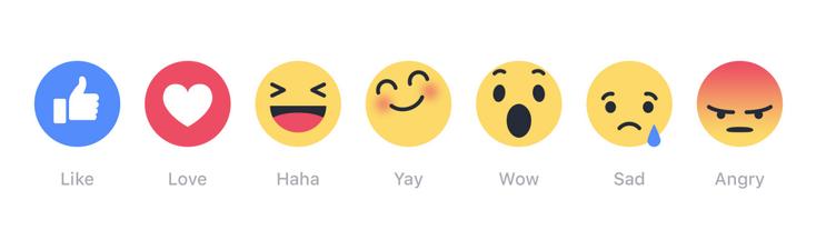 Like emoji's Facebook