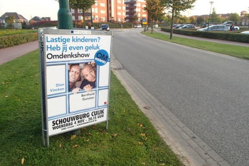 Omdenken offline reclame