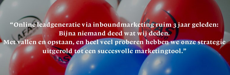 Online leadgeneratie via inboundmarketing