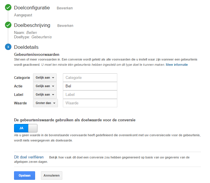 Call Tracking Google Analytics