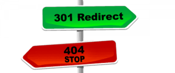 301 en 404 redirects